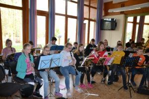 Probentage JH Lingen 2020 Orchesterprobe